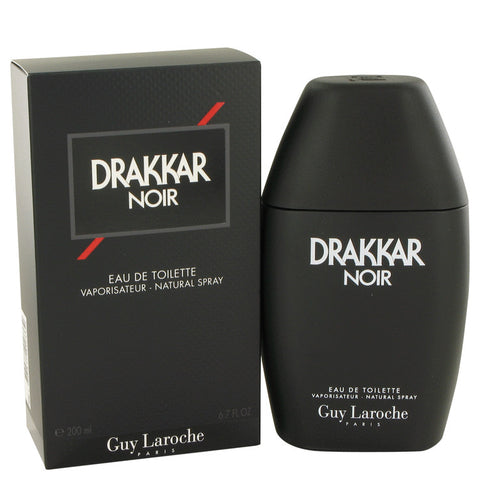 DRAKKAR NOIR by Guy Laroche Eau De Toilette Spray 6.7 oz