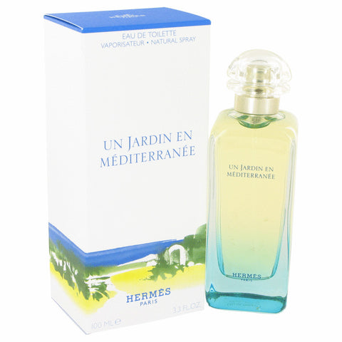 Un Jardin En Mediterranee by Hermes Eau De Toilette Spray (Unisex) 3.4 oz for Women
