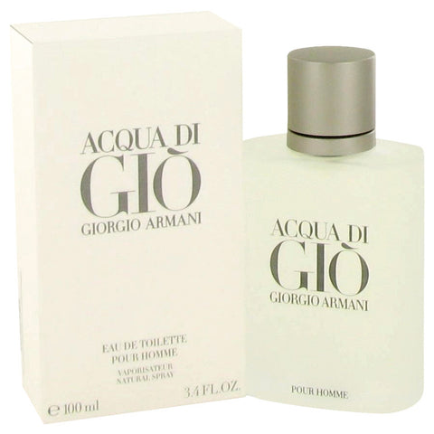 ACQUA DI GIO by Giorgio Armani Eau De Toilette Spray 3.3 oz for Men