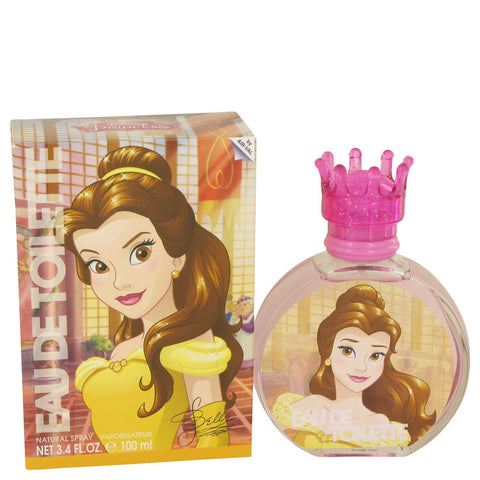 Beauty and the Beast by Disney Princess Belle Eau De Toilette Spray 3.3 oz for Women