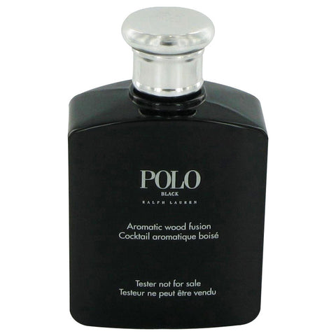 Polo Black by Ralph Lauren Eau De Toilette Spray (Tester) 4.2 oz for Men