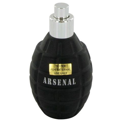 ARSENAL BLUE by Gilles Cantuel Eau De Parfum Spray (Tester) 3.4 oz