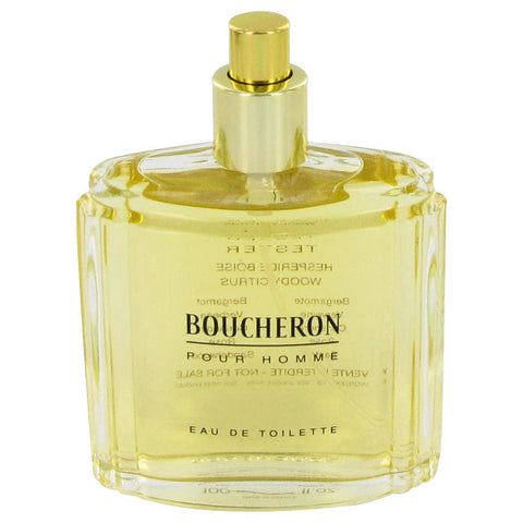 BOUCHERON by Boucheron Eau De Toilette Spray (Tester) 3.4 oz