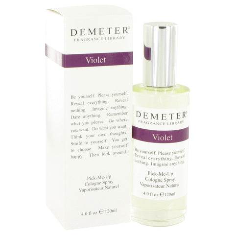 Demeter by Demeter Violet Cologne Spray 4 oz