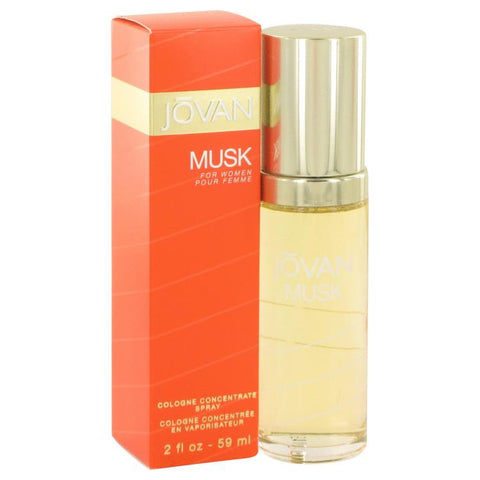 JOVAN MUSK by Jovan Cologne Concentrate Spray 2 oz for Women