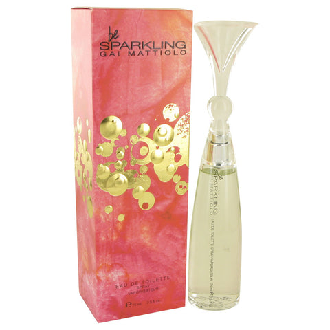 Be Sparkling by Gai Mattiolo Eau De Toilette Spray 2.5 oz for Women
