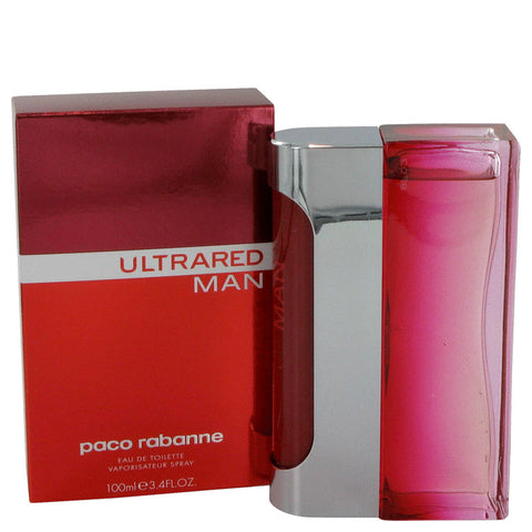 Ultrared by Paco Rabanne Eau De Toilette Spray 3.4 oz for Men