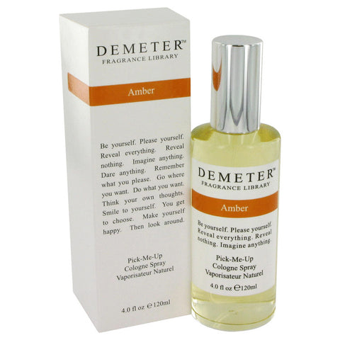 Demeter by Demeter Amber Cologne Spray 4 oz