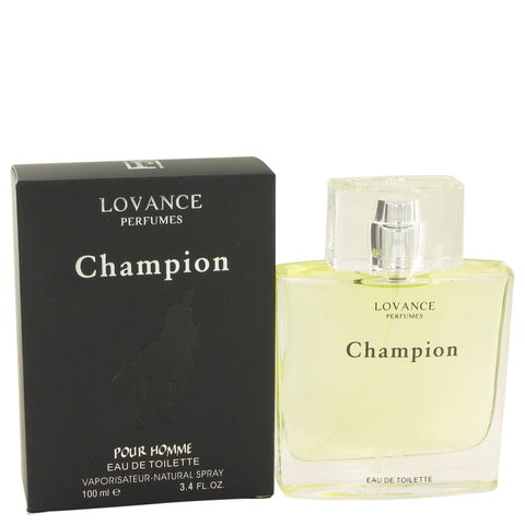 Champion by Lovance Eau De Toilette Spray 3.4 oz