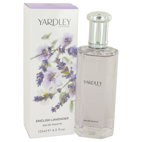 English Lavender by Yardley London Eau De Toilette Spray (Unisex) 4.2 oz