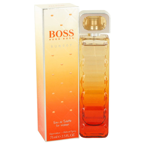 Boss Orange Sunset by Hugo Boss Eau De Toilette Spray 2.5 oz for Women