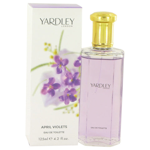April Violets by Yardley London Eau De Toilette Spray 4.2 oz