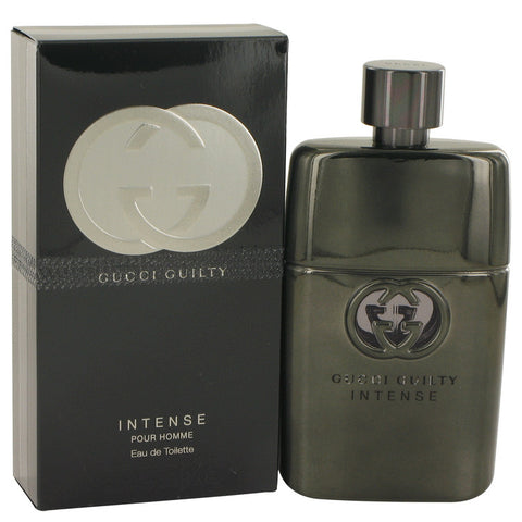 Gucci Guilty Intense by Gucci Eau De Toilette Spray 3 oz for Men