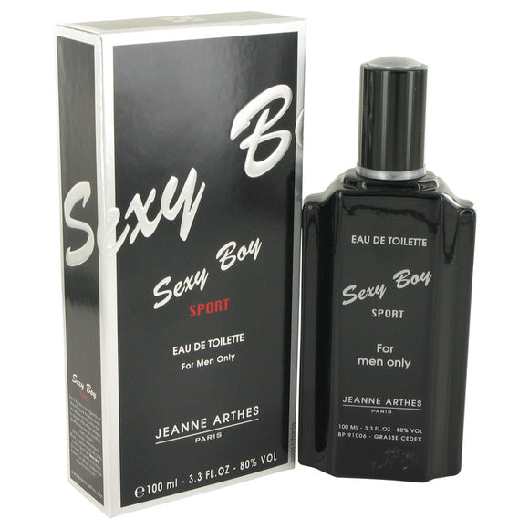 Sexy Boy Sport by Jeanne Arthes Eau De Toilette Spray 3.4 oz