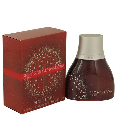 Spirit Night Fever by Antonio Banderas Eau De Toilette Spray 1.7 oz