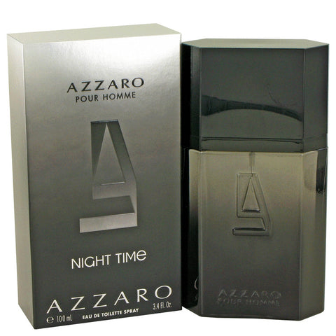 Azzaro Night Time by Azzaro Eau De Toilette Spray 3.4 oz