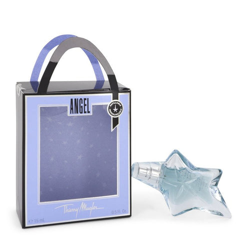 ANGEL by Thierry Mugler Eau De Parfum Spray Refillable .5 oz for Women