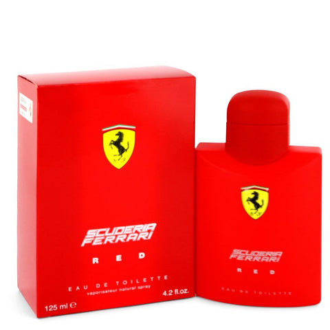 Ferrari Scuderia Red by Ferrari Eau De Toilette Spray 4.2 oz for Men
