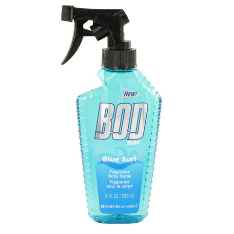 Bod Man Blue Surf by Parfums De Coeur Body Spray 8 oz for Men