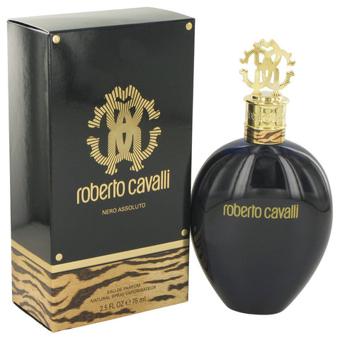 Roberto Cavalli Nero Assoluto by Roberto Cavalli Eau De Parfum Spray 2.5 oz for Women