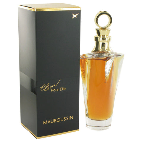 Mauboussin L'Elixir Pour Elle by Mauboussin Eau De Parfum Spray 3.4 oz for Women