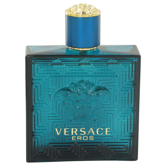 Versace Eros by Versace Eau De Toilette Spray (Tester) 3.4 oz
