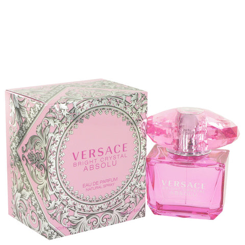 Bright Crystal Absolu by Versace Eau De Parfum Spray 3 oz