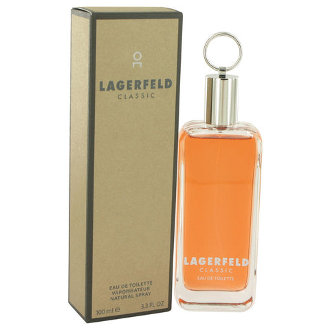 LAGERFELD by Karl Lagerfeld Eau De Toilette Spray 3.3 oz for Men