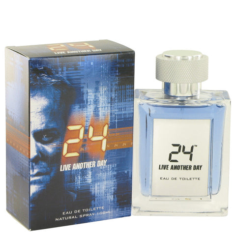 24 Live Another Day by ScentStory Eau De Toilette Spray 3.4 oz