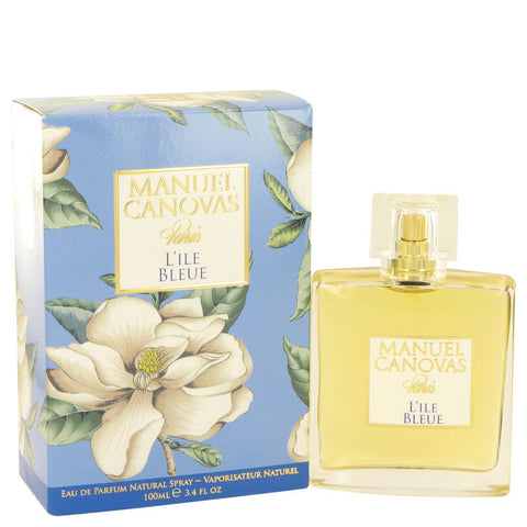 L'ile Bleue by Manuel Canovas Eau De Parfum Spray 3.4 oz