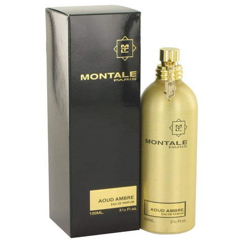 Montale Aoud Ambre by Montale Eau De Parfum Spray (Unisex) 3.4 oz for Women