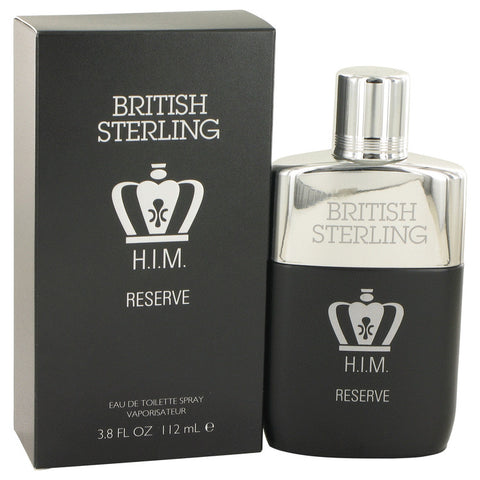 British Sterling Him Reserve by Dana Eau De Toilette Spray 3.8 oz for Men