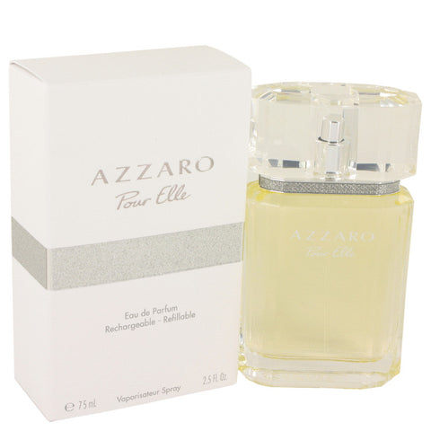 Azzaro Pour Elle by Azzaro Eau De Parfum Refillable Spray 2.5 oz for Women