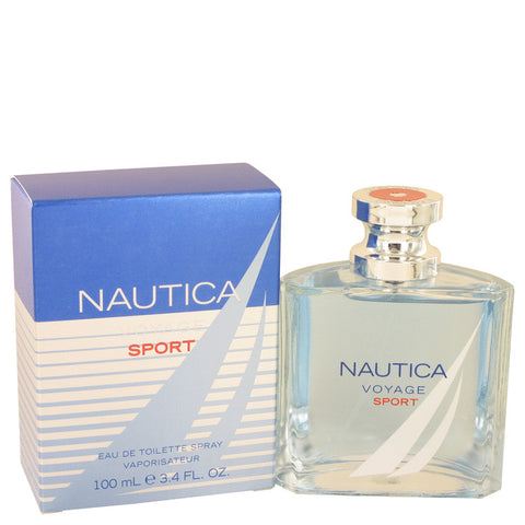 Nautica Voyage Sport by Nautica Eau De Toilette Spray 3.4 oz for Men