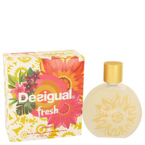 Desigual Fresh by Desigual Eau De Toilette Spray 3.4 oz