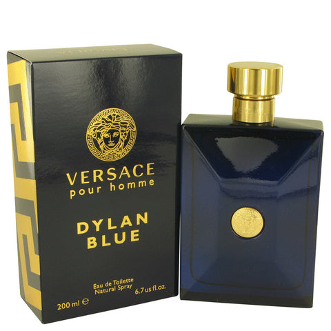 Versace Pour Homme Dylan Blue by Versace Eau De Toilette Spray 6.7 oz for Men