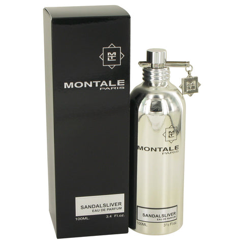 Montale Sandal Silver by Montale Eau De Parfum Spray (Unisex) 3.4 oz for Women