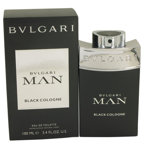 Bvlgari Man Black Cologne by Bvlgari Eau De Toilette Spray 3.4 oz for Men
