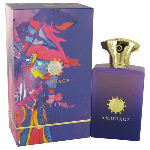 Amouage Myths by Amouage Eau De Parfum Spray 3.4 oz for Men