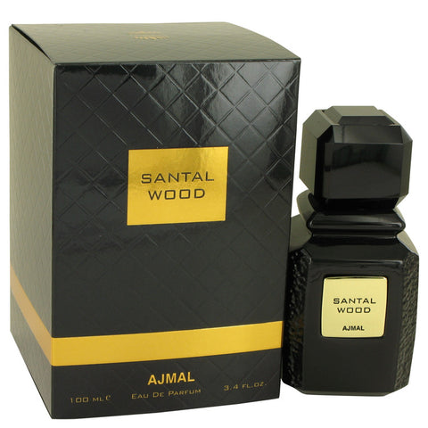 Santal Wood by Ajmal Eau De Parfum Spray (Unisex) 3.4 oz for Women