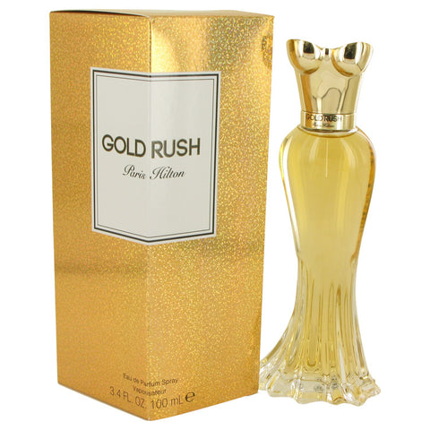 Gold Rush by Paris Hilton Eau De Parfum Spray 3.4 oz