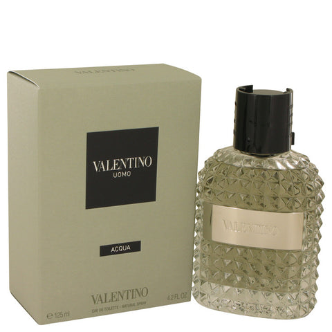 Valentino Uomo Acqua by Valentino Eau De Toilette Spray 4.2 oz for Men