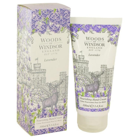 Lavender by Woods of Windsor Nourishing Hand Cream 3.4 oz for Women