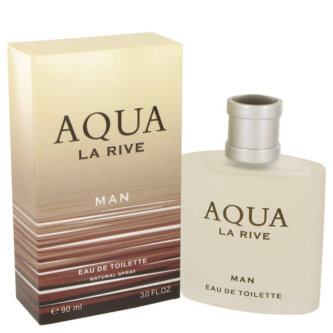 La Rive Aqua by La Rive Eau De Toilette Spray 3 oz for Men