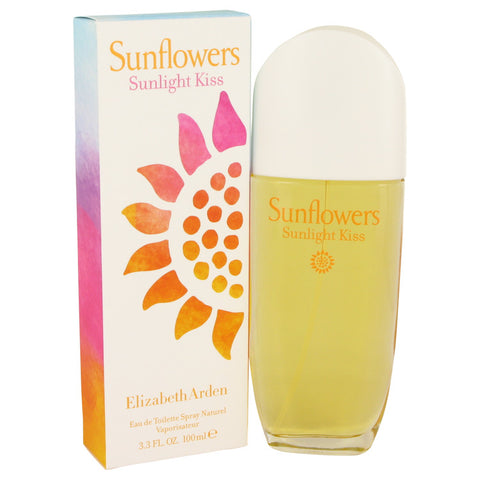 Sunflowers Sunlight Kiss by Elizabeth Arden Eau De Toilette Spray 3.4 oz