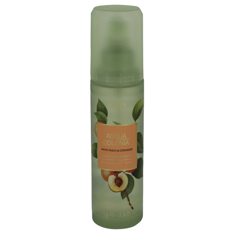 4711 Acqua Colonia White Peach & Coriander by Maurer & Wirtz Body Spray 2.5 oz