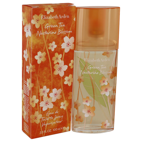 Green Tea Nectarine Blossom by Elizabeth Arden Eau De Toilette Spray 3.3 oz