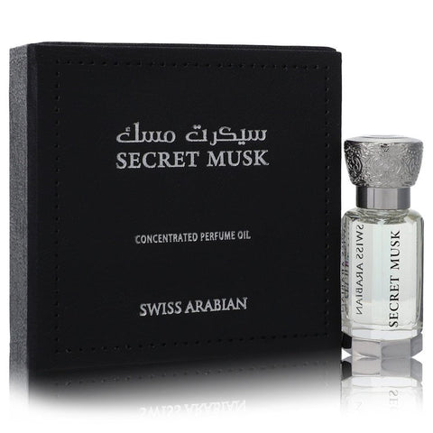 Swiss Arabian Secret Musk by Swiss Arabian Concentrated Perfume Oil (Unisex) .40 oz for Women