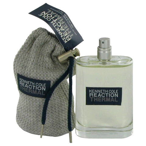 Kenneth Cole Reaction Thermal by Kenneth Cole Mini EDT Spray (unboxed) .15 oz for Men