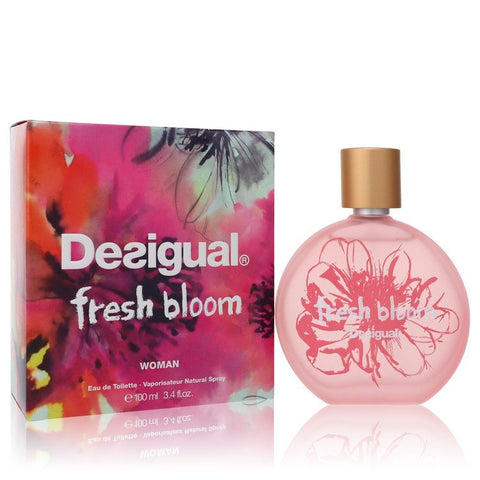 Desigual Fresh Bloom by Desigual Eau De Toilette Spray 3.4 oz for Women